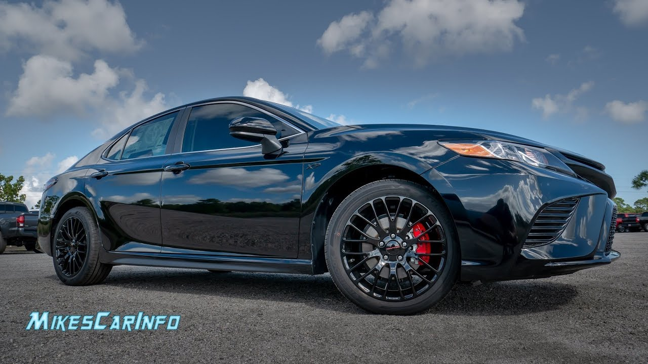 Elusive Xp Package Toyota Camry Se Detailed Look In 4k