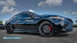 Elusive XP Package Toyota Camry SE - Detailed Look in 4K