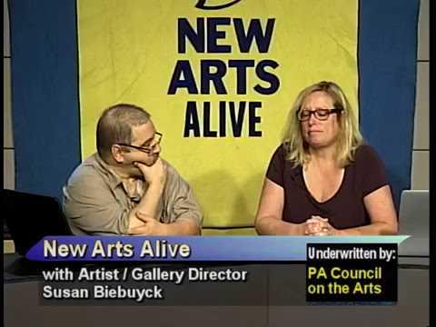 Susan Biebuyck, artist and gallery director 9-2-15
