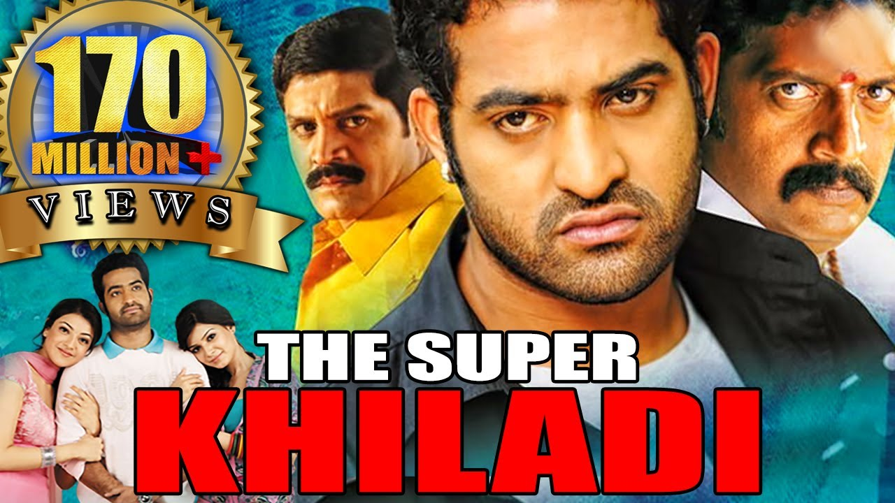 Download The Super Khiladi (Brindavanam) Telugu Hindi Dubbed Full Movie | Jr NTR, Kajal Aggarwal, Samantha