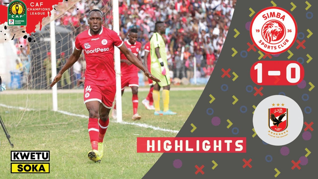 Download Simba SC 1 0 Al ahly SC   Highlights HD  CAF CL  12  02  2019