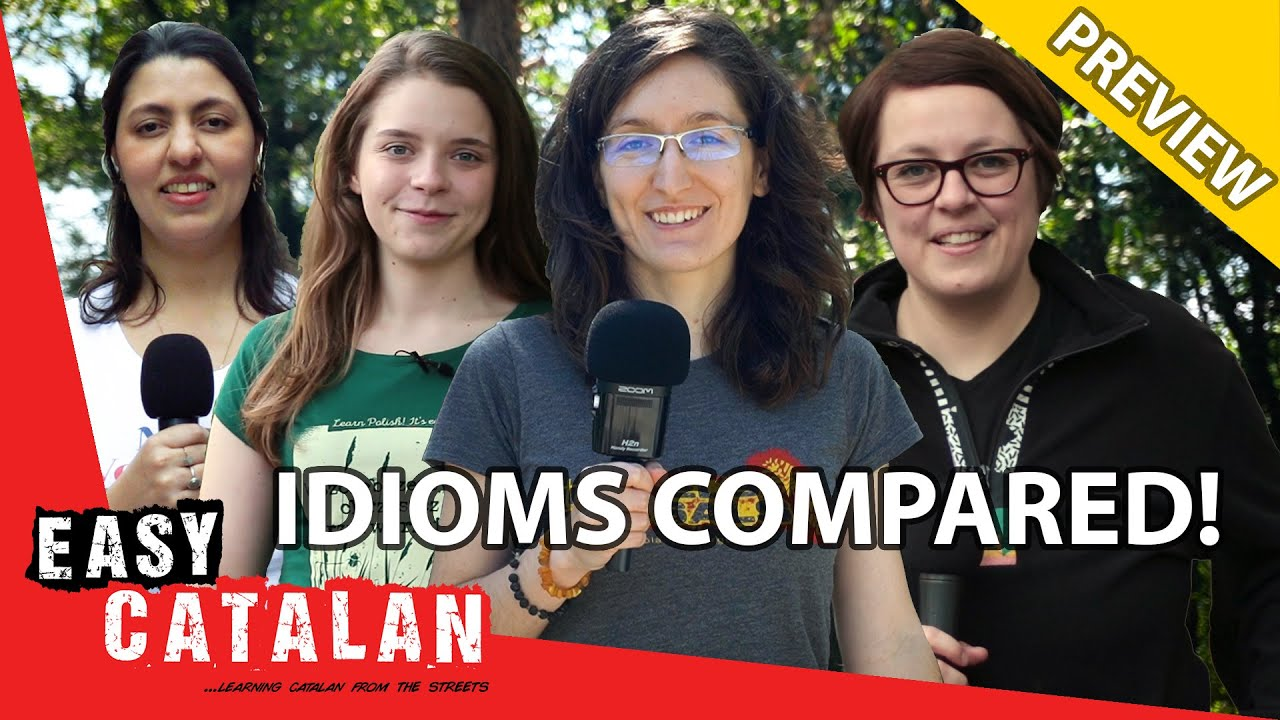 Idioms Compared: To Be Drunk (PREVIEW) | Easy Catalan 14