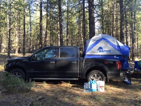 Napier Sportz Truck Tent Review Youtube