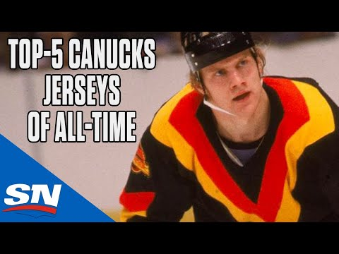 Top-5 Vancouver Canucks Jerseys Of All-Time