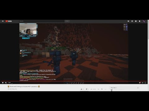 STREAM-SNIPING A YOUTUBE STREAMER... (RHEILEY) | Arcane HCF