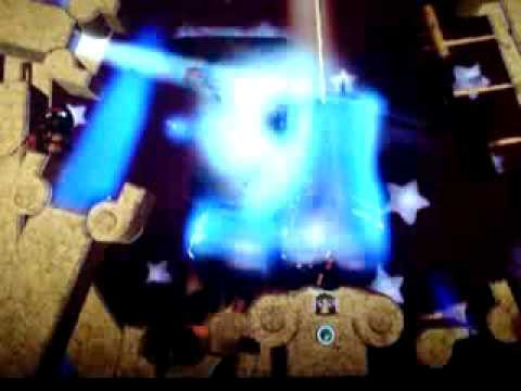 Little Big Planet -No death on infinity continues tutorial level