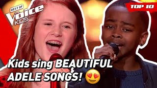 Baixar TOP 10 | Would ADELE turn for these young singers in The Voice Kids? 😍