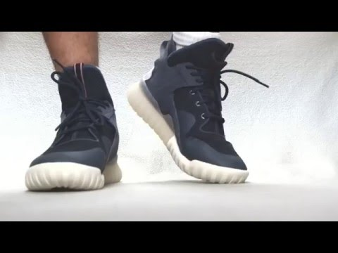 638e1cab838c Смотреть видео Adidas Originals Tubular X - Boonix Off White онлайн