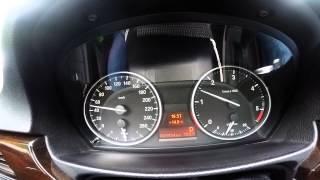 BMW E91 / плавающие обороты во время докатки -- 1
