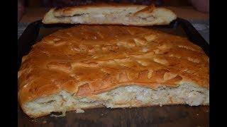 Пирог с рыбой Рецепт теста Начинка