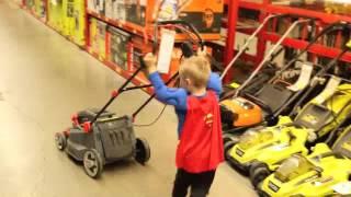 Torys Toy Time!  (The Lawn Mower!) Ryan ToysReview #1 fan! thumbnail