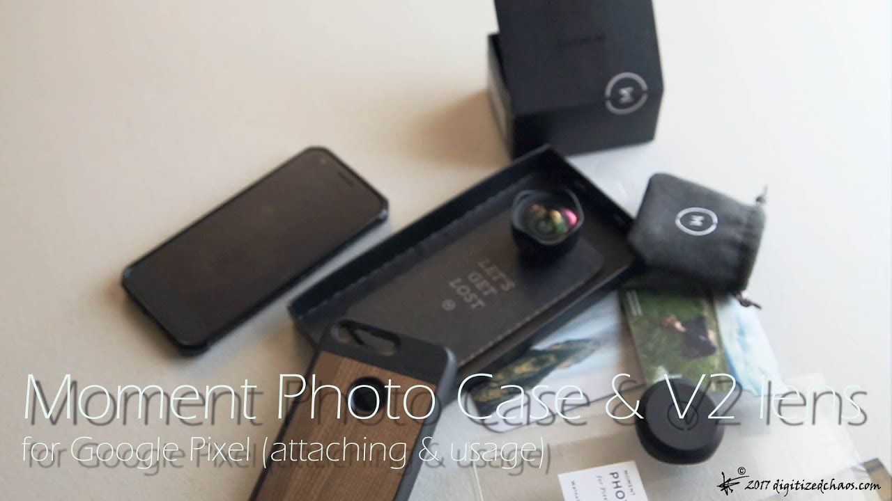 pretty nice d71bf 709c2 Moment Photo Case & Wide Lens V2 for Google Pixel (Attaching and Usage)
