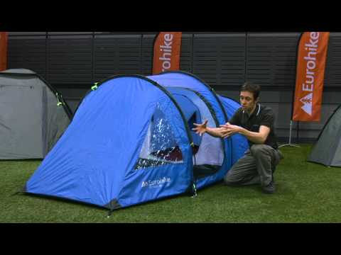 The Eurohike Tay Deluxe 2 Man Tent