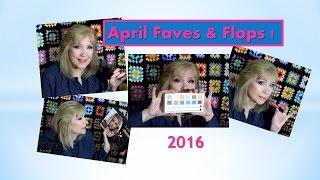 my april favs flops makeup skincare hair stuff