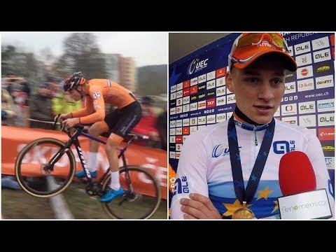 Mathieu Van der Poel cyklokrosovým šampionem. Cílem je olympiáda