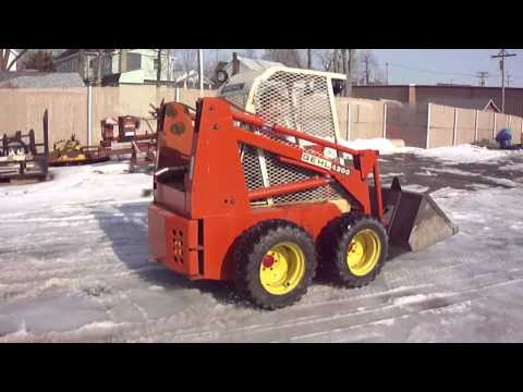 WWW HURLEYSEQUIPMENT COM GEHL 4300 SKID STEER FOR SALE YouTube