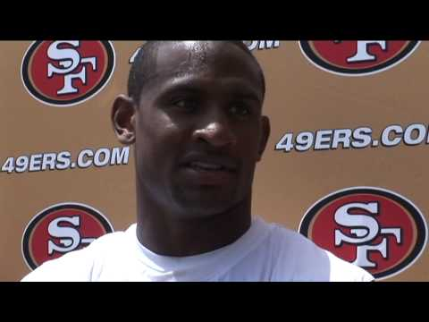 49ers CB Dre Bly...not shy!
