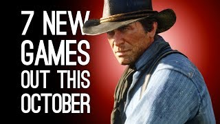 7 New Games in October 2018 for PS4, Xbox One, PC, Switch - RED DEAD REDEMPTION 2! BLACK OPS 4!