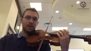 G Major Scale For Violin (One Octave)