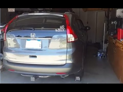 gen4 2012 2013 2014 honda cr v atf and differential fluid change youtube. Black Bedroom Furniture Sets. Home Design Ideas