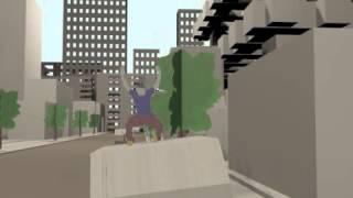 3D animation PAPER PLANE ( Jacques Muller & Dorian Gréau)