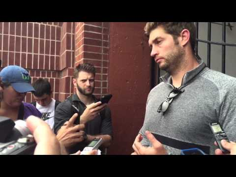 Chicago Bears QB Jay Cutler at Michigan QB camp A4