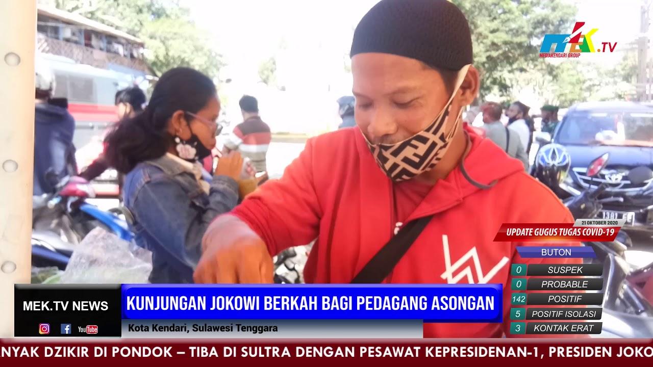Kunjungan Jokowi Berkah Bagi Pedagang Asongan