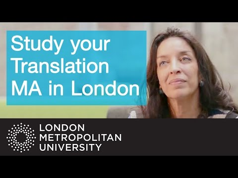 Study your Translation MA in London