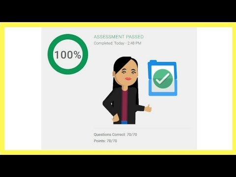 Google Analytics Individual Qualification Assessment Exam Answers ✅ 2018 ✅ 100% Correct ✅