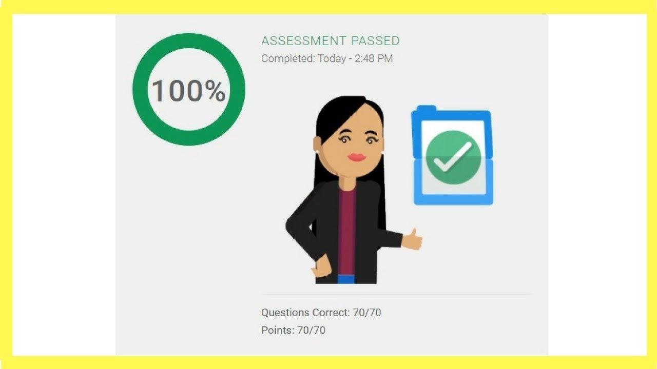 Google Analytics Individual Qualification Assessment Exam Answers
