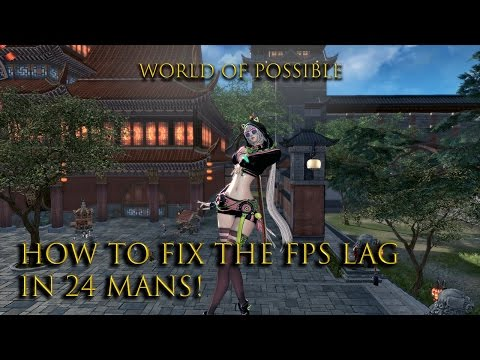 PC - Blade and Soul This is how I fixed low fps and crashes in 24