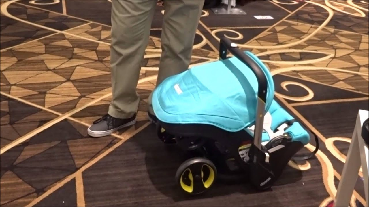 StrollerQueen Presents the Doona car seat with wheels - YouTube
