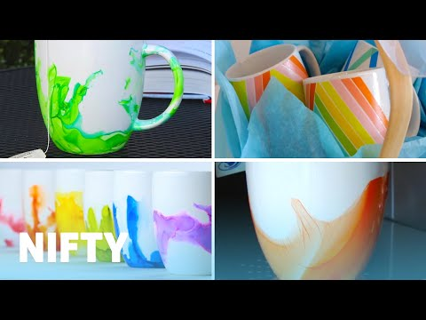 Colorful DIY Mug Gifts