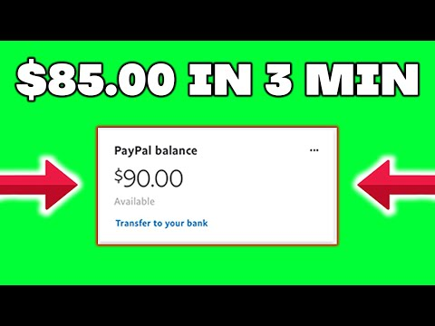 Make $80.00 Every 3 Min In Paypal Money! (Make Money Online 2021)