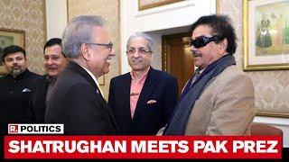 Congress' Shatrughan Sinha Meets Pak President Arif Alvi; Allegedly Backs Concern On J&K