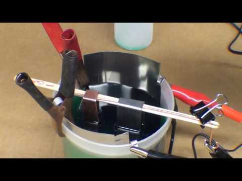 SHOP TIPS #383 How To Nickel Plate Tubalcain Electroplating