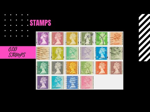 Rare|Beautiful Stamps UK  ' Please Go To Watch Remastered Version-  Https://youtu.be/qCTcxIAZe0c '