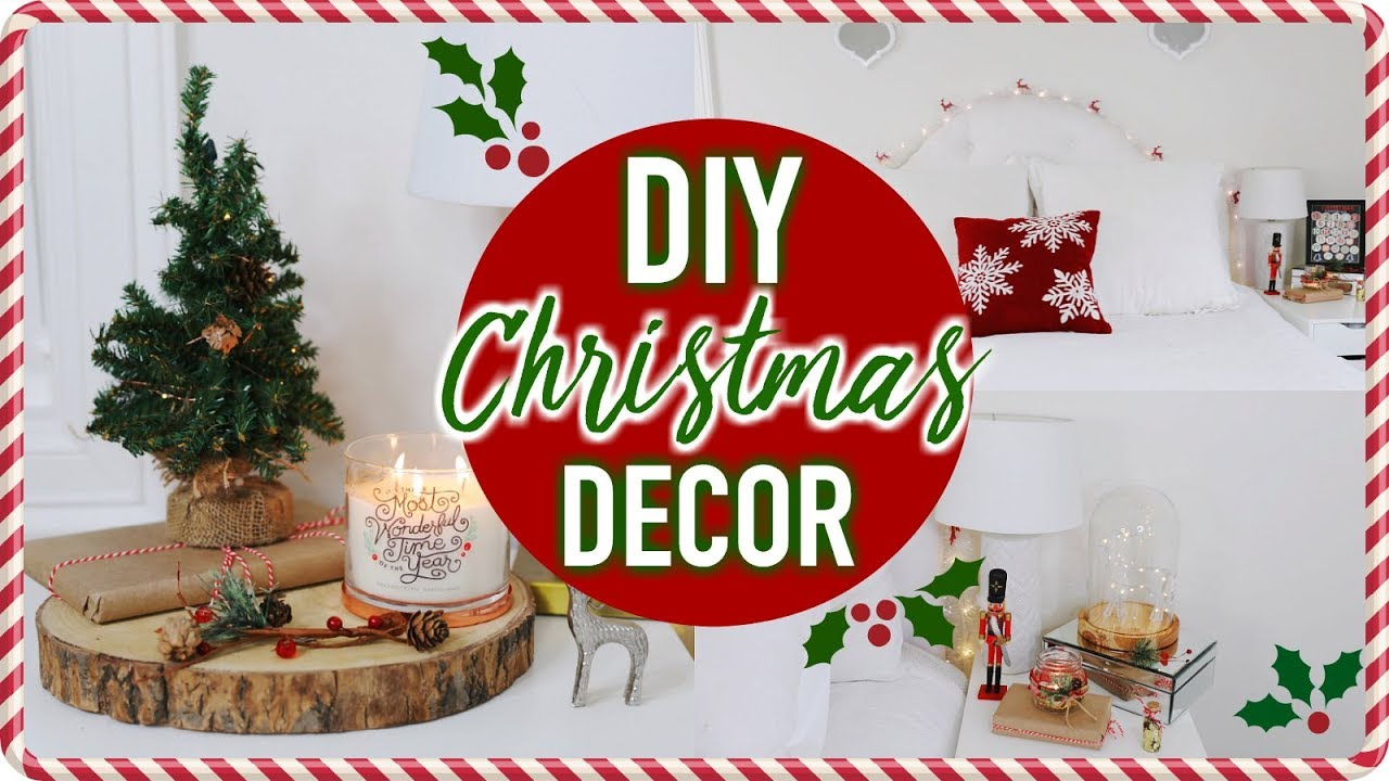 DIY Christmas Room Decor! Cheap \u0026 Easy Ways To Decorate Your Room!