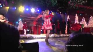 ᴴᴰ Mariah Carey - All I Want For Christmas Is You (Live at Rockefeller Center 2012)