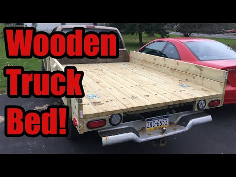 Making A Wooden Truck Bed For My S10 Youtube