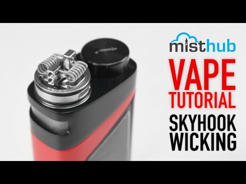 The SMOK SkyHook RDTA 220W Wicking Tutorial