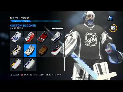 NHL 16: Career Mode ( Goalie ): | Road To the Stanley Cup | Ep 1. – Creation + 1st game