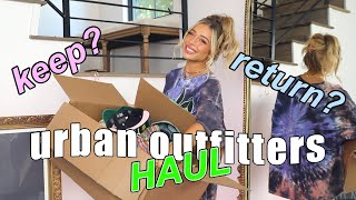 URBAN OUTFITTERS HAUL! help me decide what to keep and return | Delaney Childs