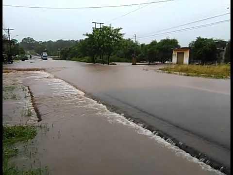 Inundación en Santaní | Video: Sergio Escobar, ABC Color