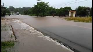 Inundación en Santaní | Video: Sergio Escobar, ABC Color