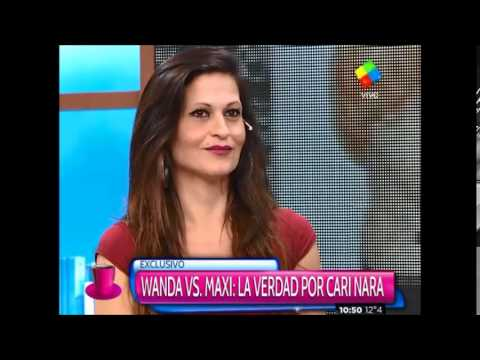 "Cari Nara: ""A Wanda y Zaira les doy vergüenza"""