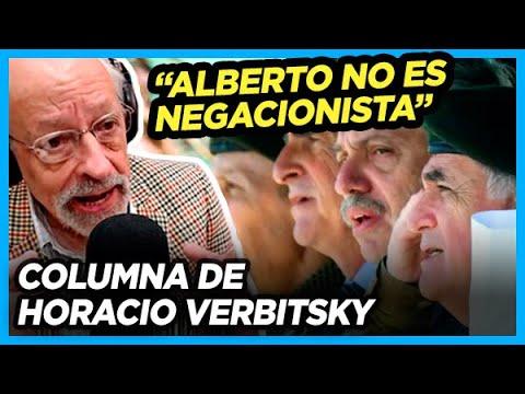 Verbitsky sobre los dichos de Alberto a las FFAA y las críticas que le llegaron