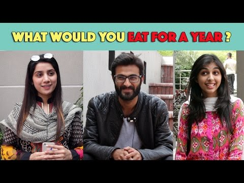 Bolo Pakistan | What would you eat for a year? | MangoBaaz