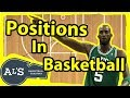 Positions in Basketball and The Numbers | Basketball Terminology Basics