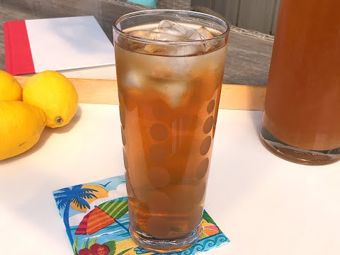 Lemon Iced Tea Recipe • Classic Summer Beverage! - Episode #441